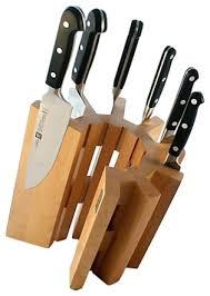 knifes touch of modern knife block black modern knife block