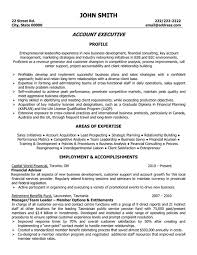Executive Resume Sample by Click Here To Download This Account Executive Resume Template
