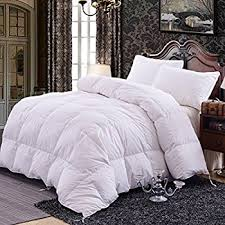 Goose Feather Duvet Sale Amazon Com Natural Comfort Classic White Goose Feather Comforter