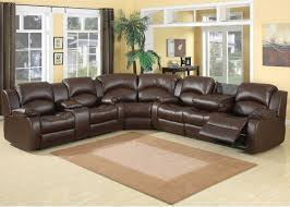 Black Leather Sectional Sofa Recliner Leather Sectional Sofa Leather Sectional Sofa With