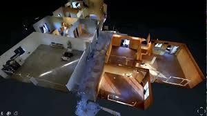 3d matterport virtual tour walkthrough doll house and floor plan