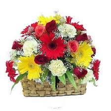 flower gift beautiful basket of 22 mix flower gift 170 flowers