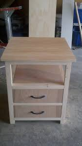 Ana White Desk Plans by Ana White First Nightstand Diy Projects