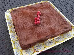 fondant chocolat mascarpone glaçage chocolat les gourmandises