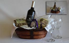 wine baskets in room gift baskets yellowstone national park lodges