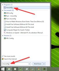 Windows Search Box - make windows start faster 10 non essential startup items you can