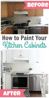 best paint for kitchen cabinets diy how to paint kitchen cabinets happy home