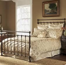 Metal King Size Headboard Surprising King Iron Bed Coventryon By Wesley Allen Humble Abode