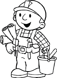 bob builder coloring pages lofty dazzling image games