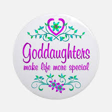 goddaughter ornament goddaughter christmas ornament cafepress