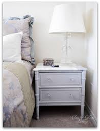 marble top bedside table diy refinishing vintage bedside tables finished look with