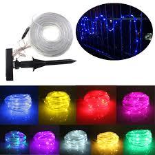 solar power led lights 100 bulb string multicolour 10m 100 led solar light string lights christmas solar