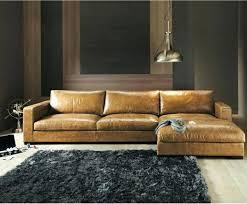 canapé cuir naturel canapac en cuir vaste choix dans les ventes privaces westwing