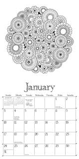 secret garden 2016 wall calendar an inky treasure hunt and 2016
