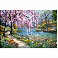 online buy wholesale spring flower painting from china spring