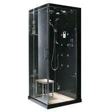 steam planet jupiter 35 in x 35 in x 86 in steam shower steam shower enclosure kit