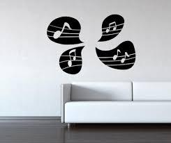 vinyl wall decal sticker music note speech bubbles os mb1245