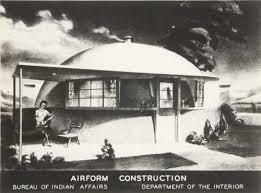 United States Department Of Interior Bureau Of Indian Affairs Airform Buildings Concept Paul Revere Williams