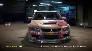 mitsubishi sticker design need for speed 2015 mitsubishi lancer evo kirby de youtube