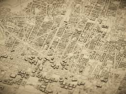 paper maps paper style maps in unity points of interest