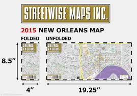 Map Of Areas To Avoid In New Orleans by Streetwise New Orleans Map Laminated City Center Street Map Of