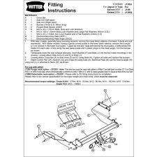 jaguar s type tow bar wiring diagram jaguar wiring diagrams