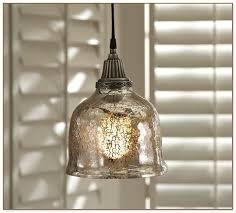 Mercury Glass Pendant Light Glass Pendant Light Fixture