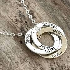 Mom Necklaces With Children S Names Best Children Name Necklaces Products On Wanelo