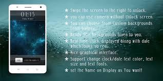 slide lock pro apk free slider lock screen apk for android getjar
