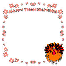 free thanksgiving borders happy thanksgiving border clip