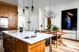 kitchen desk design design attractor wonderful eclectic apartment in stockholm