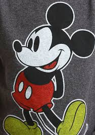classic mickey mouse facing left shirt toddlers