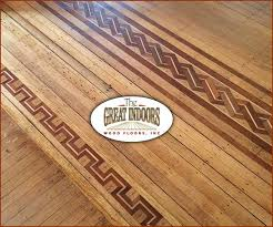 mosaic tiles wood inlay designs and wood stain patterns in