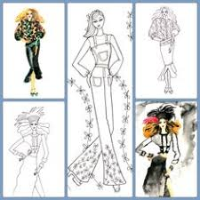 a page from very wendy u0027s fashion coloring book very wendy u0027s