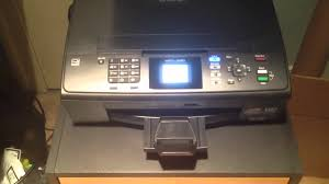 brother printer mfc j220 resetter brother mfc j220 all in one printer scanner copier fax youtube