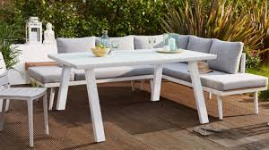 white outdoor table and chairs contemporary furniture modern dining table and chair sets danetti