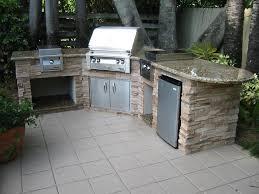 Outdoor Kitchen Island Designs Outdoor Kitchen Beautiful Outdoor Kitchen Ideas With Granite