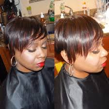 can you sew in extensions in a pixie hair cut short cut sew in youtube