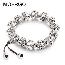 fine silver plated bracelet images Charm fine retro tibetan buddhism plated thai silver rope bracelet jpg
