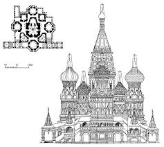 Medieval Cathedral Floor Plan Russia U0027s Most Beautiful Gem St Basil U0027s Cathedral Moscow
