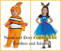 costumes for nemo and dory costumes for toddlers and infants