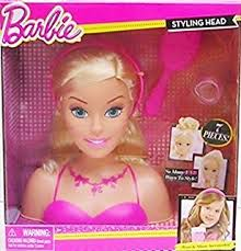 amazon barbie deluxe styling head doll playset toys u0026 games
