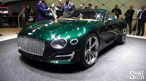 bentley dark green in detail bentley exp 10 speed 6 geneva 2015 youtube