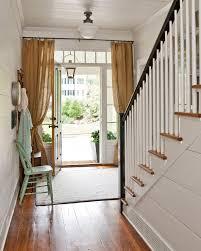 Doorway Curtain Ideas Front Door Curtain Ideas Entry Farmhouse With Wood Floor Transom