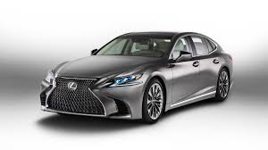 lexus is van 2018 lexus ls luxury sedan debuts at the naias