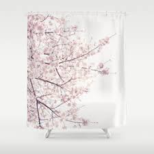 Cherry Blossom Curtains The Shining Shower Curtain By Hive Society6