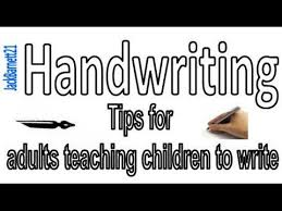 i teach u english 43 handwriting tips for adults teaching