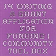how to write a grant application letter blogging and such