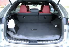 land rover discovery sport trunk space comparison review 2015 lexus nx 200t vs 2015 land rover