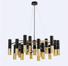 Chandelier Simple Ike Mental Pipe Pendant L Modern Ceiling Light Fixture Simple